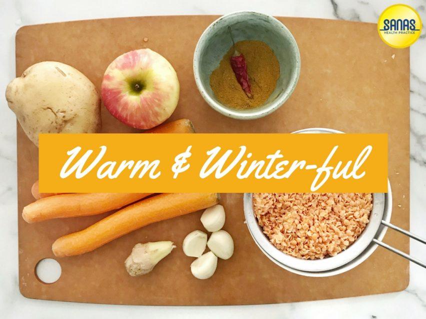Vegan Mulligatawny Soup | Sanas Health Practice